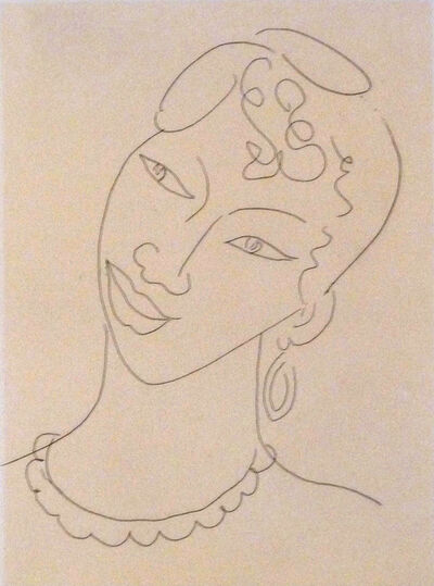 Henri Matisse, 'Portrait of a Martinican Woman (La Martiniquaise)', 1946