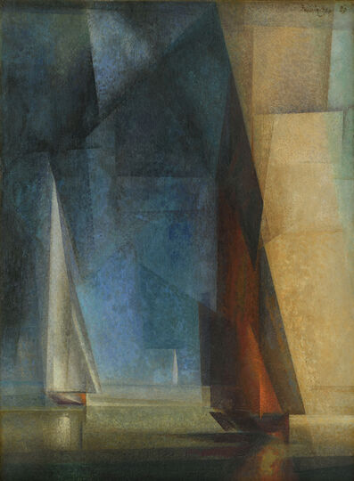 Lyonel Feininger, 'Stiller Tag am Meer (Calm at Sea III)', 1929