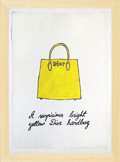 Marko Mäetamm, 'Suspicious Bags, Bright yellow Dior handbag ', 2018
