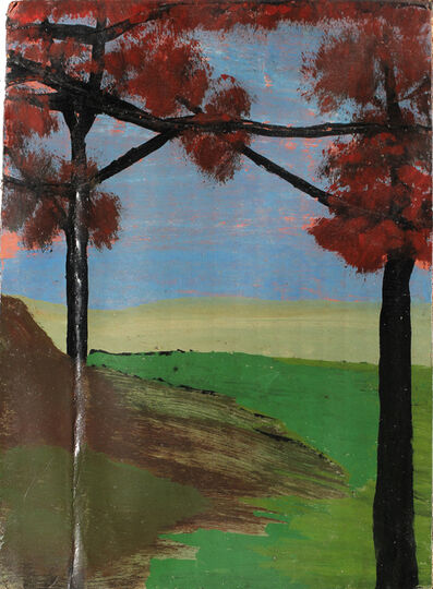 Frank Walter, 'Trees with Crossed Branches', Undated