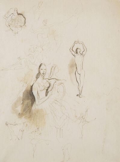 William Dobell, 'Study of Ballet Dancers', 1940-1945