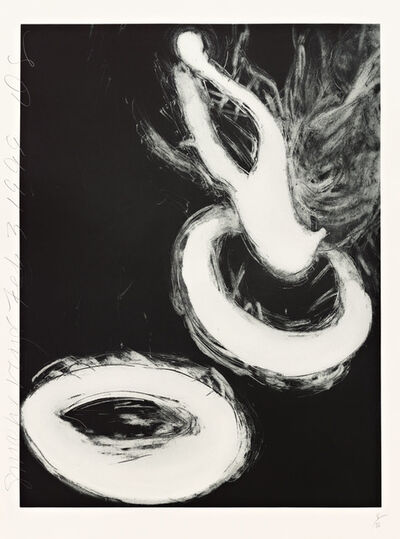 Donald Sultan, 'Smoke Rings (Feb. 3, 1999)', 1999