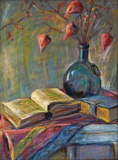 Joseph Stella, 'Still Life of Books and Chinese Lanterns', ca. 1921-1931