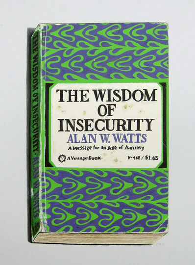 Richard Baker, 'The Wisdom of Insecurity', 2015