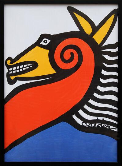 Alexander Calder, 'Seahorse', 1971