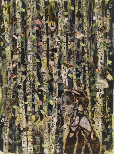 Audrey Anastasi, 'Persian Forest', 2018