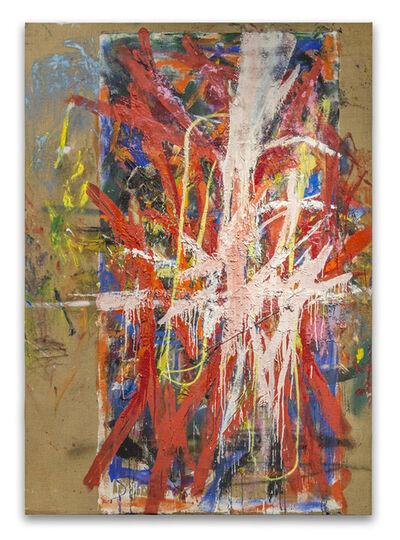 Spencer Lewis, 'Red princess slash', 2017