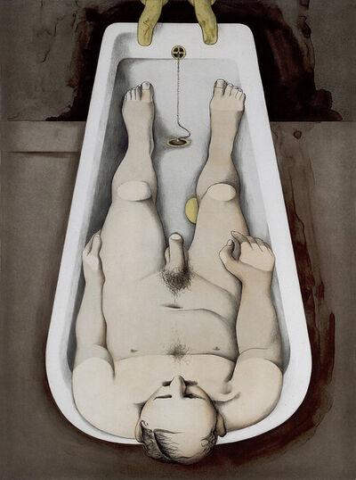 Richard Hamilton, 'He foresaw his pale body', 1990-1991