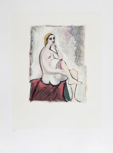 Pablo Picasso, 'Nu Assis, 1930', 1979-1982