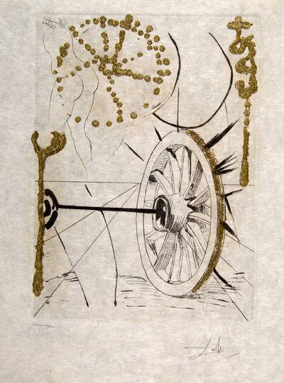 Salvador Dalí, 'Good fortune. Les Amours Jaunes ', 1974