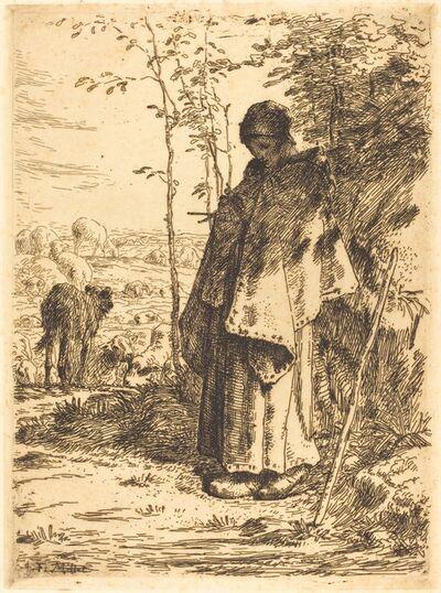 Jean-François Millet, 'The Large Shepherdess (La grande bergere)', 1862