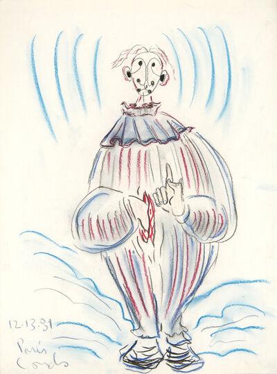 George Condo, 'Untitled (Paris)', 1981