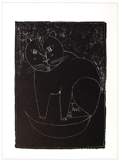 Franco Gentilini, 'The Cat', 20th Century