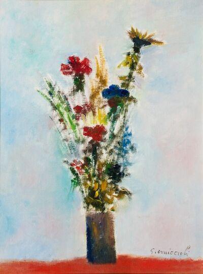 Giovanni Omiccioli, 'Flowers vase'