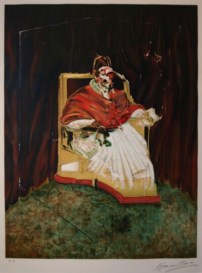 Francis Bacon, 'Study for Portrait of Pope Innocent X, 1965', 1989