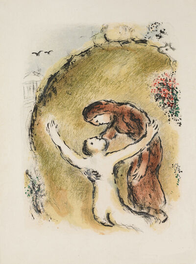 Marc Chagall, 'The Soul of Elpenor (M.781, L'Odyssée)', 1974