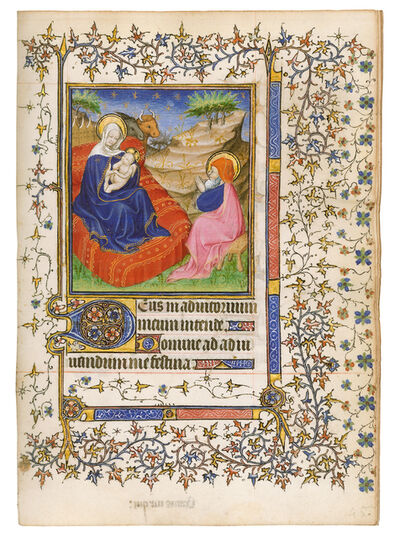 Anonymous, 'Barbet Book of Hours, use of Paris', 1400-1410