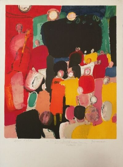 Paul Guiramand, 'Un très Amical Souvenir', 1961