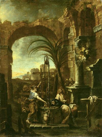 Alessandro Magnasco, called il Lissandrino, 'Christ and the Samaritan Woman', 1705-1710
