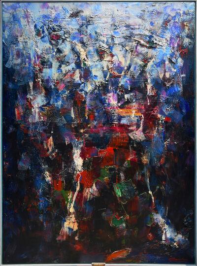 Norman Carton, 'Blue Grotto', 1957