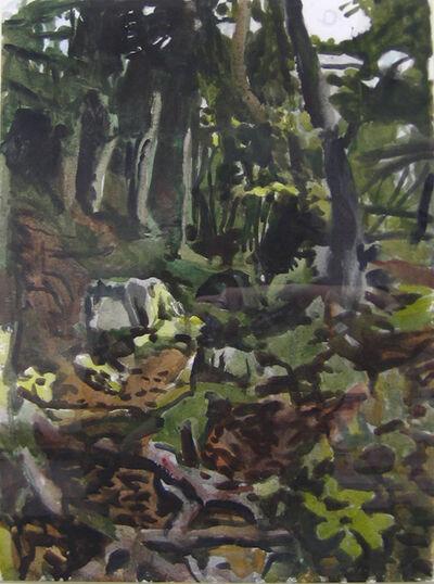 Fairfield Porter, 'The Trail', 1974