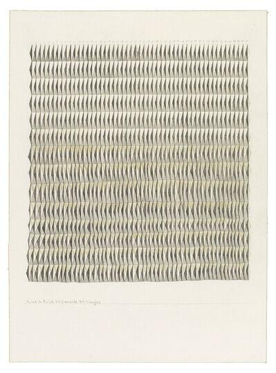 Jessica Deane Rosner, 'Ruled Unruled 714 Diamonds 714 Triangles', 2017