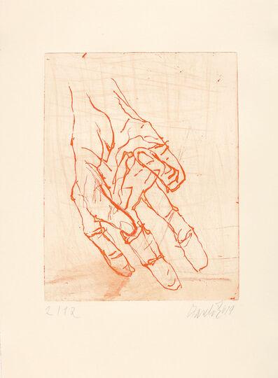 Georg Baselitz, 'Eine Hand ist Keine Faust VII', 2019