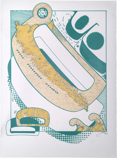 Sonny Assu, 'Landline #1', 2020