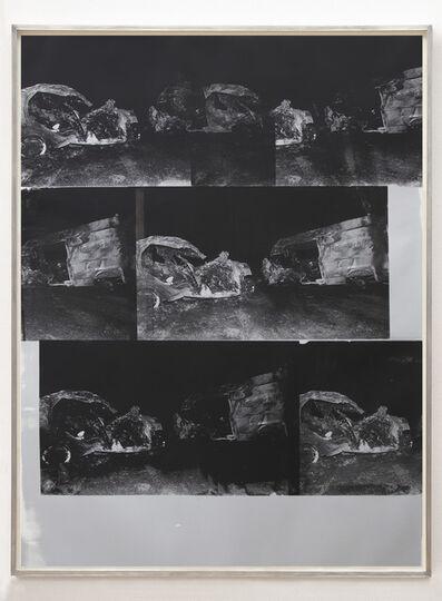 Gavin Turk, 'Dinosaur Transit Disaster Silver', 2018
