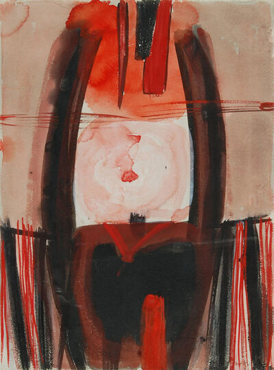 Sir Terry Frost, 'Red & Black Autumn', 1960