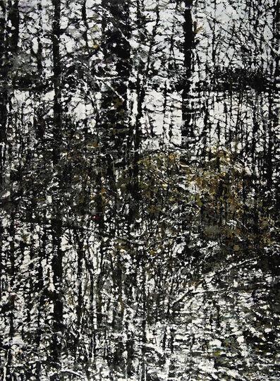 Philippe Cognée, 'Winter Landscape', 2019