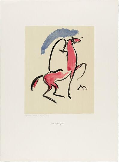Kees van Dongen, 'Cavalier Arabe (Juffermans Jl 17)', circa 1930