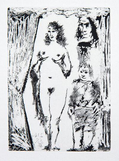 Pablo Picasso, 'Couple et Petit Valet Encadrés par une Portière', 1968