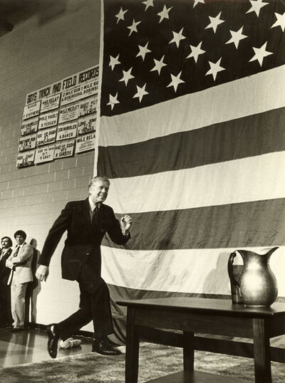 Barry L. Thumma, 'Running on his Track Record (President Jimmy Carter)', 1979