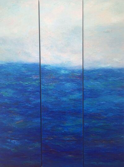 Georgeana Ireland, 'Ireland-Waterdance III - Triptych'