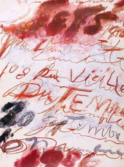 Cy Twombly, 'Cy Twombly 1986', 1986