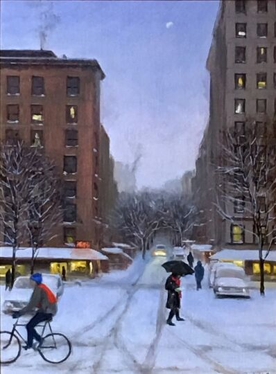Joseph P. Keiffer, 'Late Afternoon Snow on the West Side', 2017