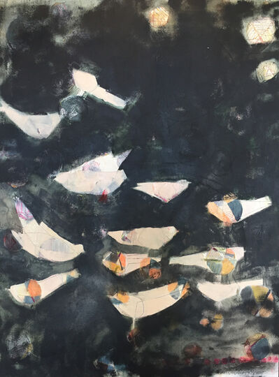 Sara Matson Westover, 'Messy Words', 2018