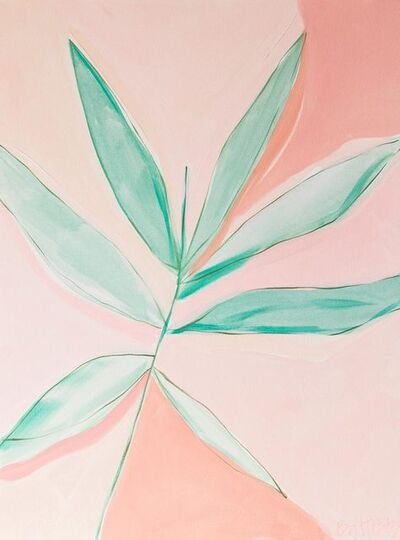 Britt Bass Turner, 'Pink & Green 1', 2017