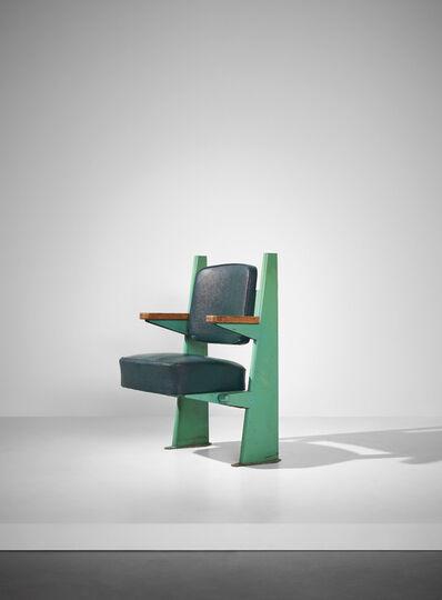 Jean Prouvé, 'Lecture hall armchair, designed for the Faculté de Lettres, Université de Besançon', 1952-1956