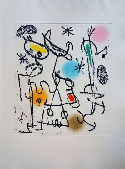 Joan Miró, 'Paroles Peintes', 1967