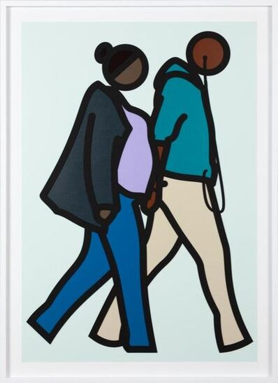 Julian Opie, 'New York Couple 6', 2019