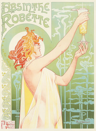 Privat Livemont, 'Absinthe Robette.', 1896