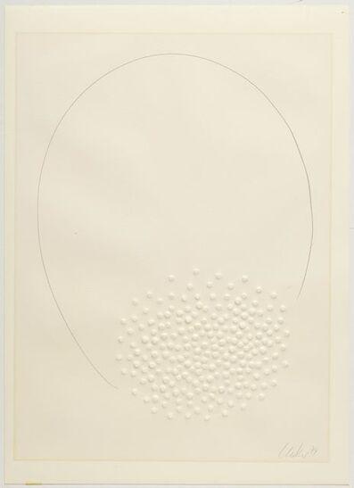 Günther Uecker, 'Hommage à Fontana', 1974