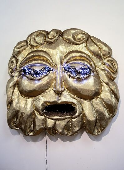 Tarryn Gill, 'Belly of the Beast (Gold Mask)', 2018