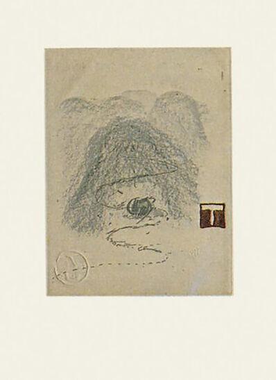Antoni Tàpies, 'Aparicions-3', 1982