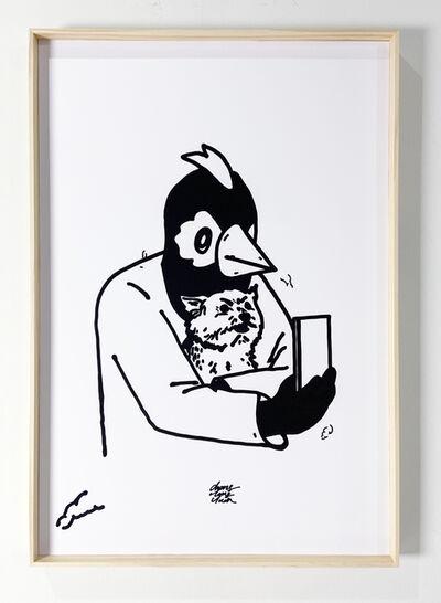 Chang Teng-yuan 張騰遠, 'Selfie with pet ', 2021