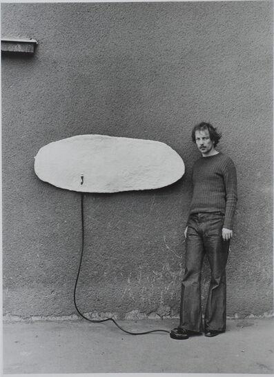 Friedl Kubelka, 'Franz West', 1975