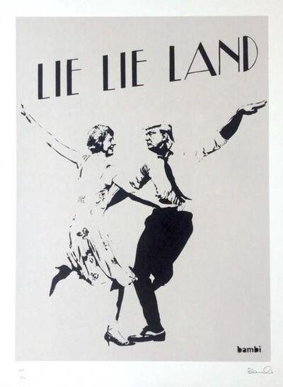 Bambi, 'Lie Lie Land (Grey)', 2017