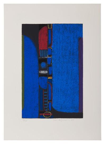 Max Ackermann, 'Überbrückte Kontinente', 1972